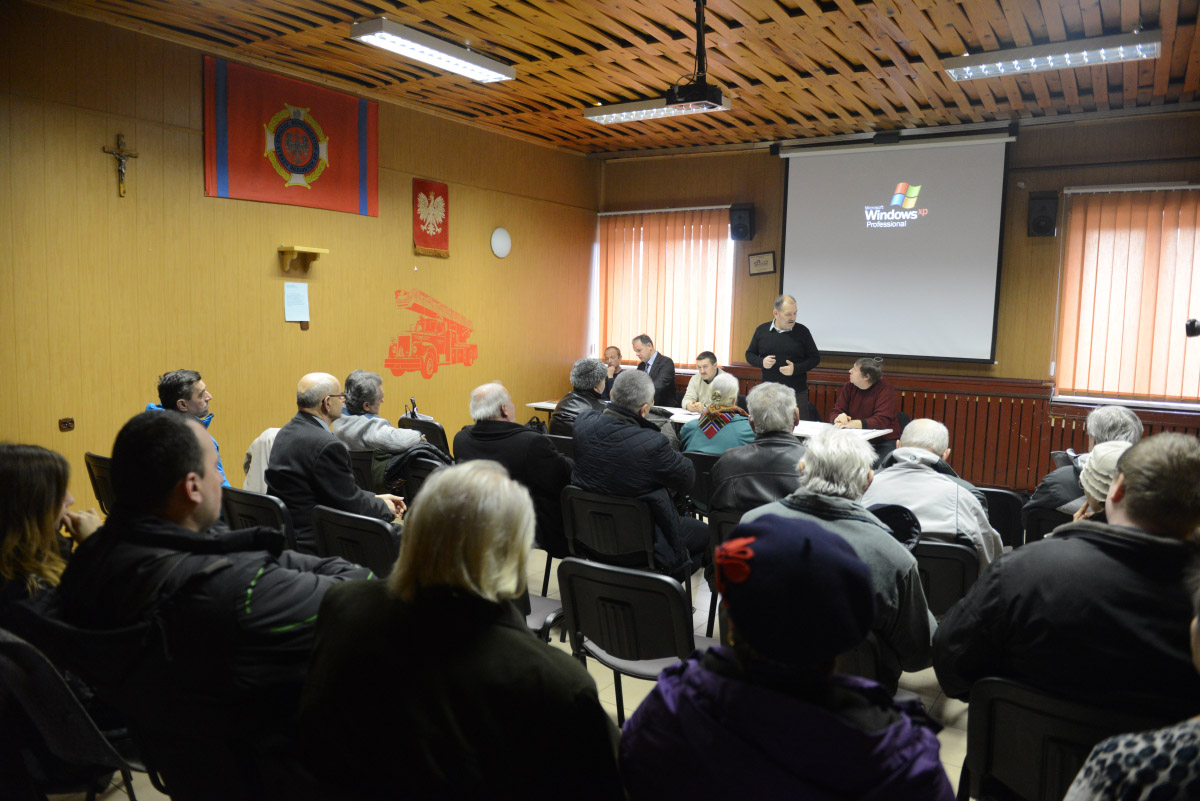 Mieszkańcy Ciężkowic sprzeciwiają siębudowie kopalni Mariola.