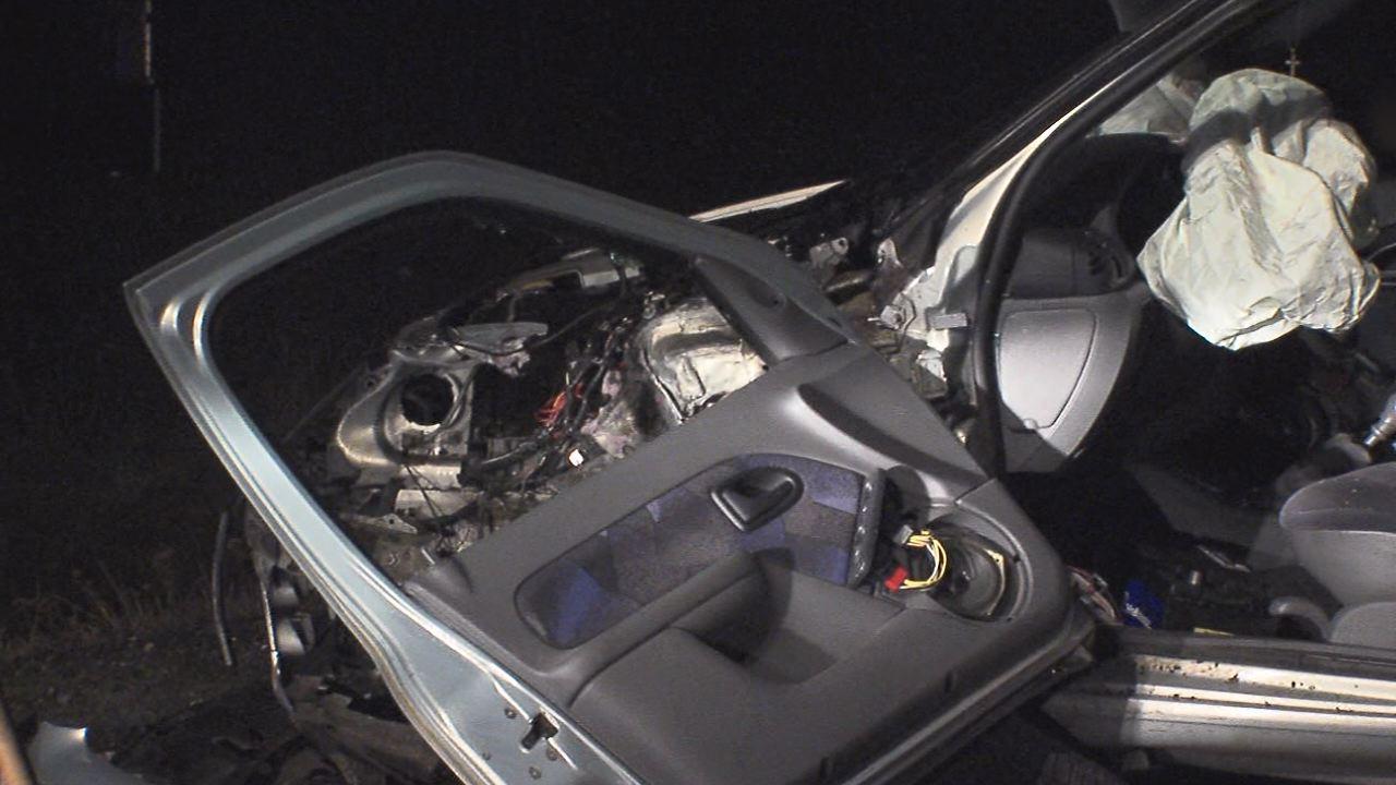 PIjany kierowca spowodował kolizję z trzema samochodami na ul. św. Wojciecha.