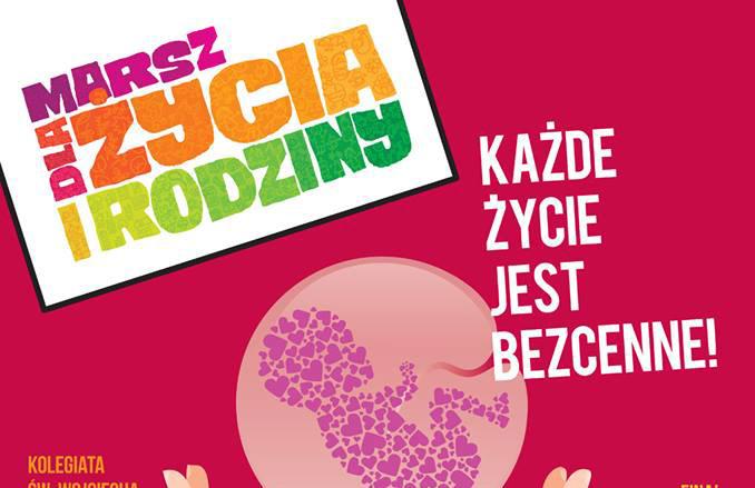 Marsz dla Życia i Rodziny w Jaworznie.