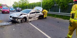 Wypadek BMW Jaworzno